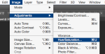 Image Adjustments HueSaturation